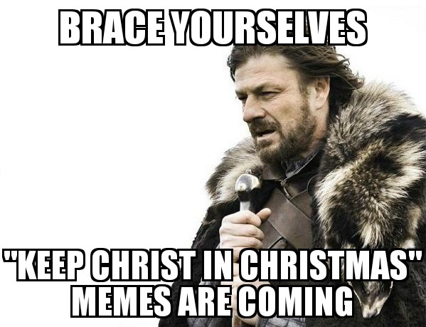 F*** You and Keep Christ in Christmas